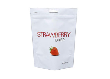 206g Strawberry Three Side Seal Bag Stand Up Style With Handhole